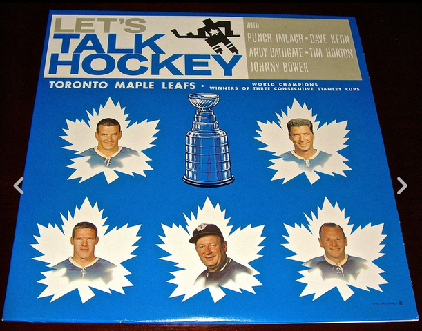 Let's Talk Hockey with Toronto Maple Leafs - LP Record 1964