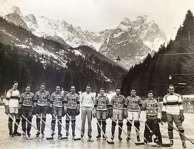 Calgary Rangers - Southern Alberta Hockey League 1934