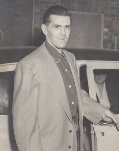 Maurice Richard / The Rocket in Casual Clothes 1950s