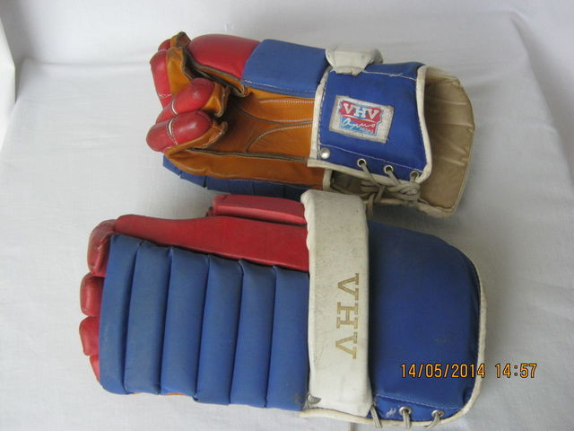 Vintage Hockey Gloves made by VHV - OPUS a.s. - Czech Republic
