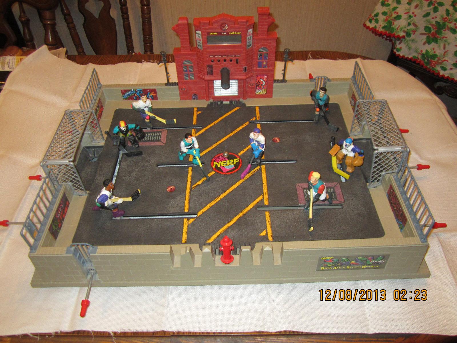 Nerf Street Hockey Table Top Game 1995 Hockeygods