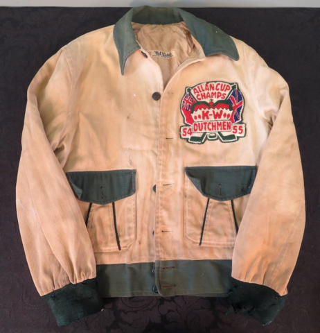 Kitchener-Waterloo Dutchmen 1955 Allan Cup Champions Jacket