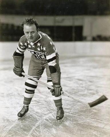 "Charles ""Rabbit"" McVeigh - New York Americans 1935"