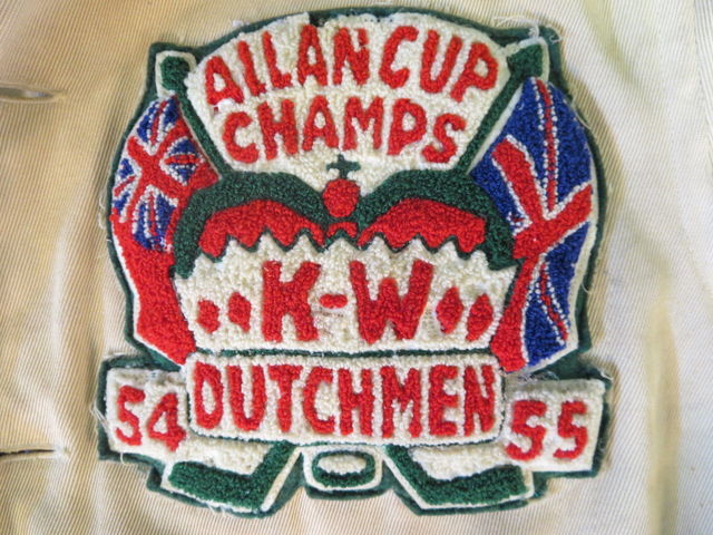 1955 Allan Cup Champions Patch - Kitchener-Waterloo Dutchmen