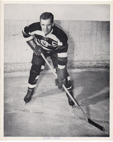 Bobby Copp - Ottawa Senators Quebec Senior Hockey League 1948