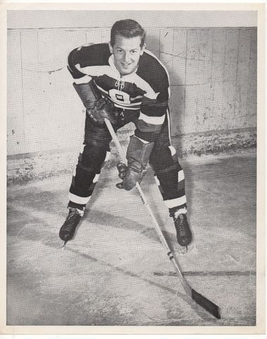 Eddie Emberg - Ottawa Senators Quebec Senior Hockey League 1948
