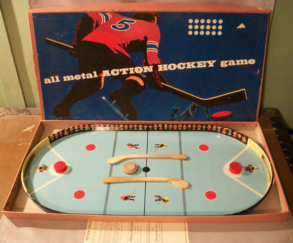 Pressman Toy Corp Table Hockey Game 1960