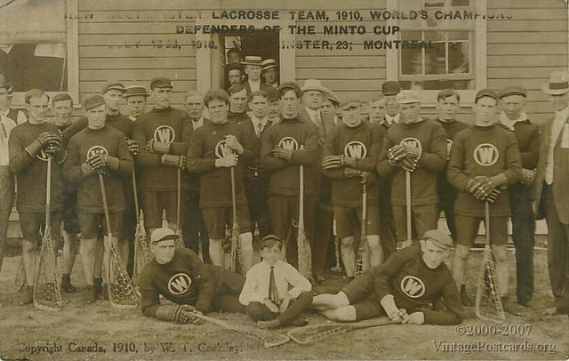 New Westminster Salmonbellies - Minto Cup Champions 1910