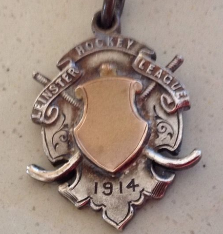Leinster Hockey League Medal 1914 - Antique Hockey Medal