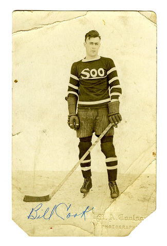Bill Cook - Sault Ste. Marie Greyhounds 1921 - Soo Greyhounds