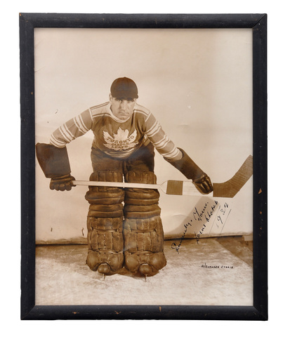 Lorne Chabot - Toronto Maple Leafs - Stanley Cup Champions 1932