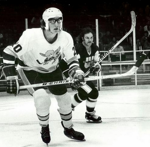 Jack Carlson - Minnesota Fighting Saints 1975