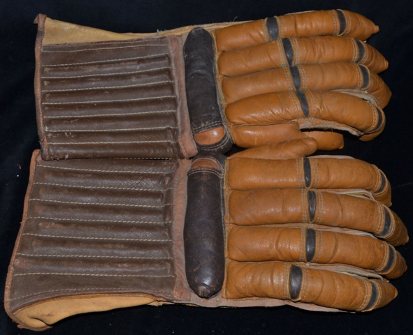 Horace Partridge Hockey Gloves 1930s