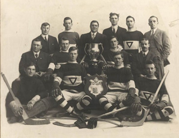 Victoria YMCA Hockey Team - Dudleigh Cup Champions 1916