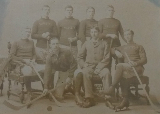 University of Toronto Hockey Club - Varsity Hockey Club 1893