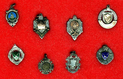 Antique Hurling Medals from Patrick Melvin Galway, Ireland 1930s