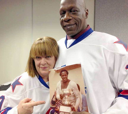 Ina & Val James - First African American to Play Hockey in NHL