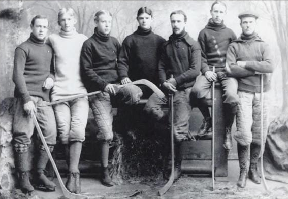 Yale University Hockey Team 1896