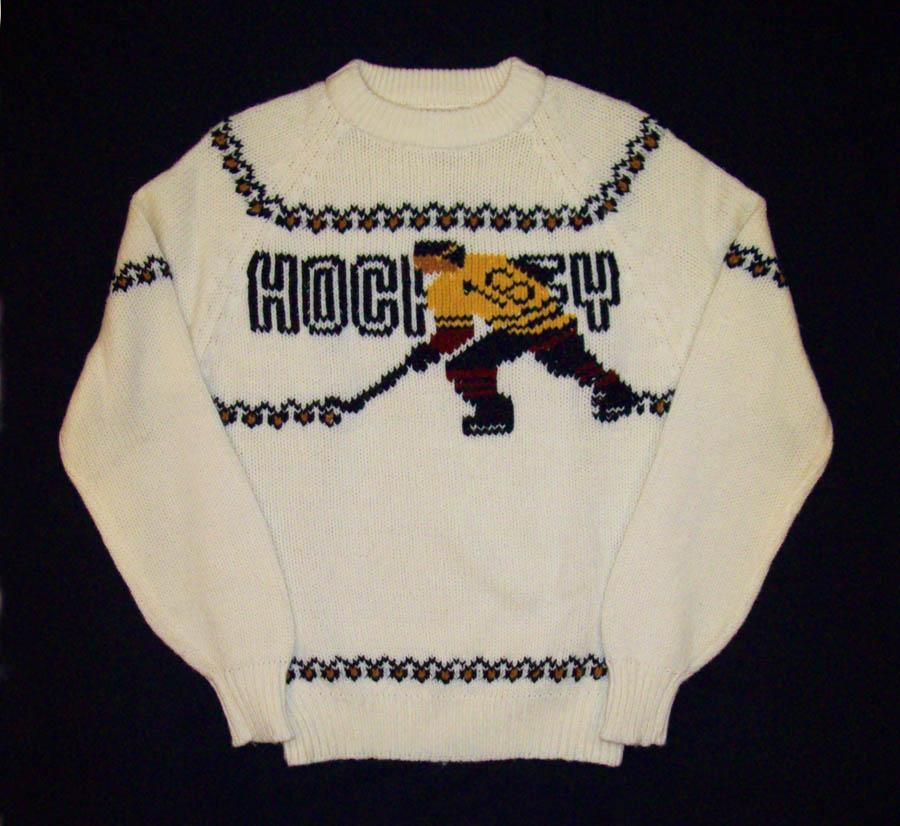 vintage hockey sweater made by sigallo 1960s hockeygods. Black Bedroom Furniture Sets. Home Design Ideas