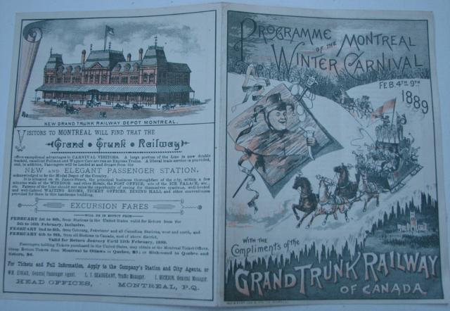 Montreal Winter Carnival 1889 - Lord Stanley's First Hockey Game