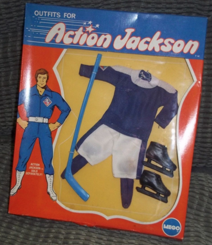 Action Jackson Hockey Outfit - Mego Corporation 1971