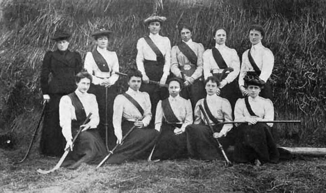 Brighton Ladies Hockey Club 1899
