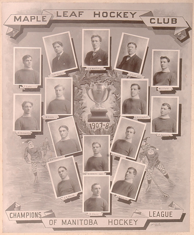 Winnipeg Maple Leafs - Manitoba Hockey League Champions 1908