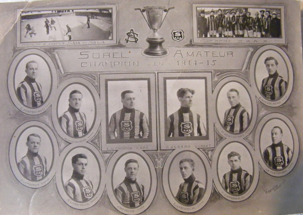 Sorel Amateur Athletic Association - Sorel Champions 1915