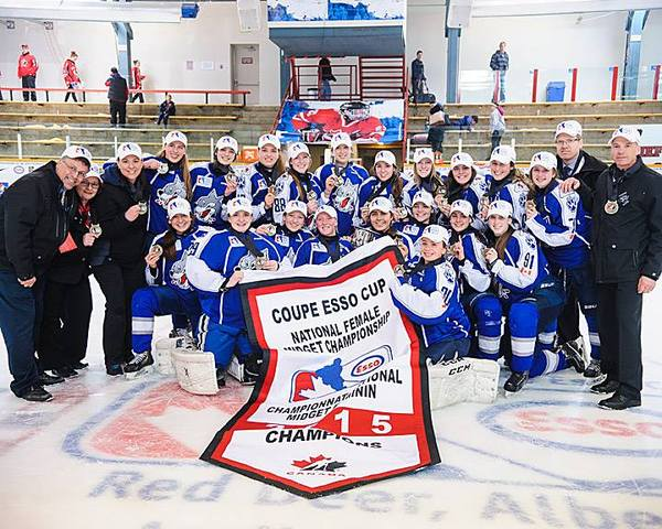 Sudbury Lady Wolves - Coupe Esso Cup Champions 2015
