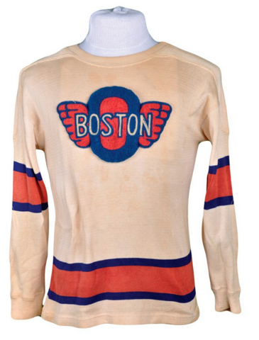 Boston Olympics Hockey Jersey 1940s