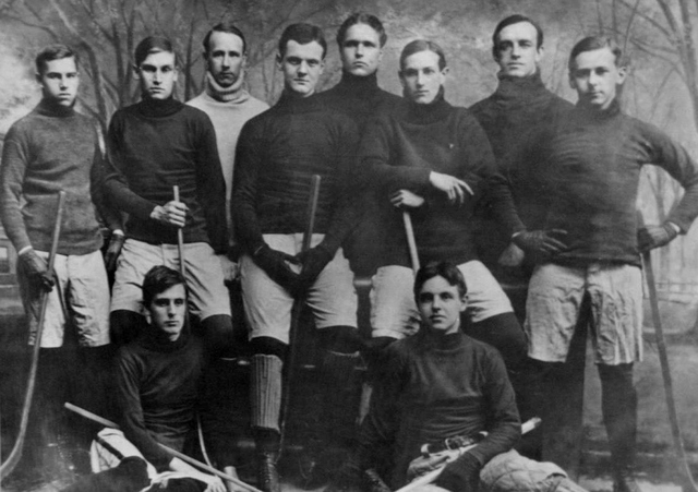 1901 Yale University hockey team
