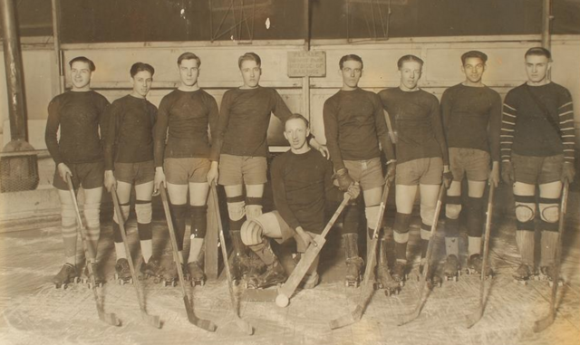 Pittsburgh Roller Hockey Team - Early 1930s