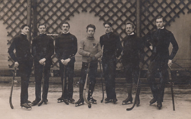 Austria-Hungary Bandy Team - Early 1900s
