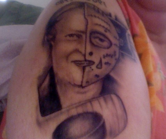 Gerry Cheevers Tattoo
