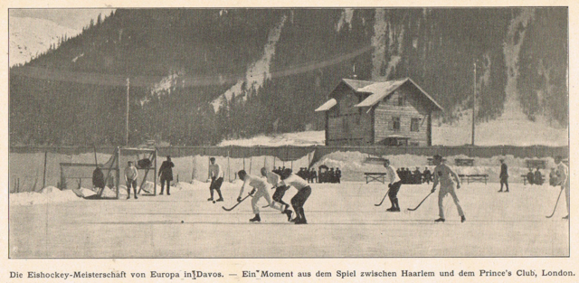 Hockey Championship of Europe 1904 - Harlem vs Prince's Club