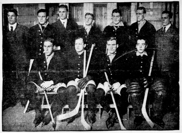 Princeton University Hockey Team, 1906–07