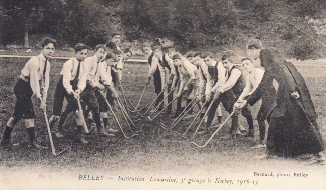 Institution Lamartine - 3 Groupe le Kockey 1916