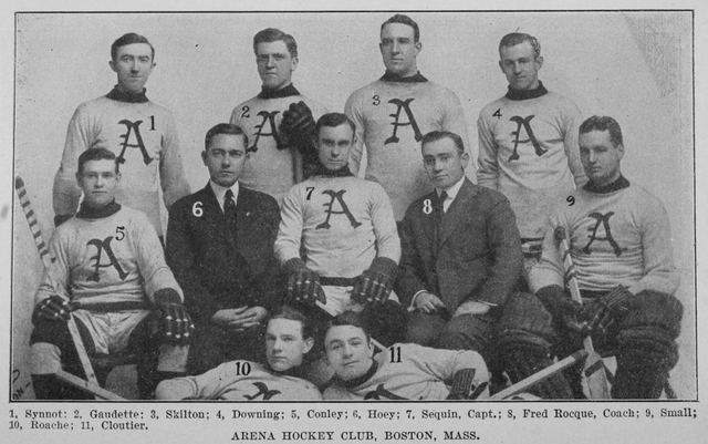 Boston Arenas, 1914–15