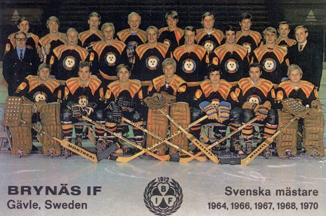 Brynäs IF 1971 - Sweden Hockey Champions