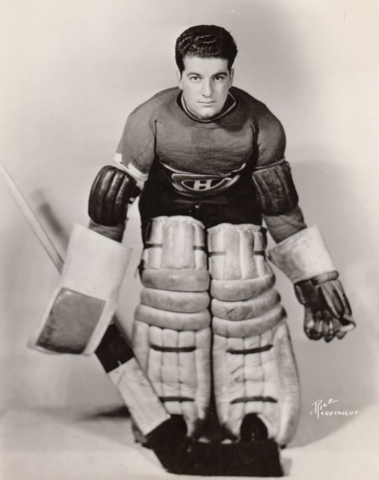 Claude Bourque - Montreal Canadiens 1938