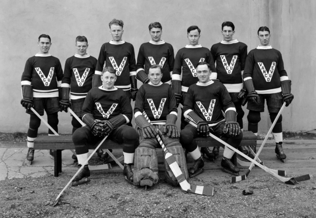 Vancouver Lions Hockey Team - PCHL Champions 1930