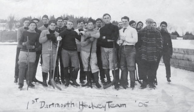 Dartmouth Men's Hockey Team 1905
