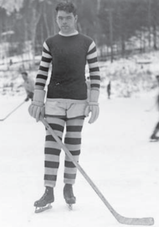 Myles Lane - Dartmouth College Men's Hockey Captain 1928