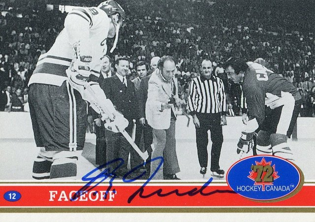 Pierre Trudeau Drops Ceremonial Puck - Game 1 Summit Series 1972
