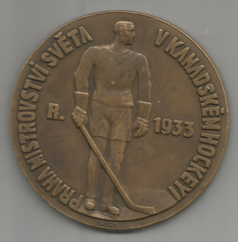 1933 World Ice Hockey Championships Participation Medal