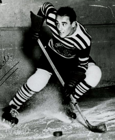 Louis Trudel - Chicago Black Hawks Stanley Cup Champion 1934