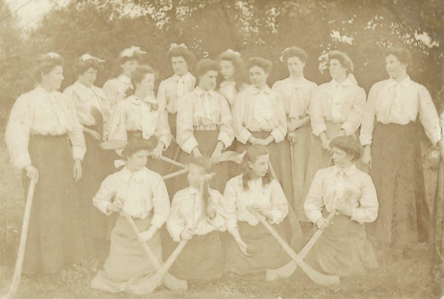 Antique Hurling - Ladies Hurling Team / Women's Hurling Team