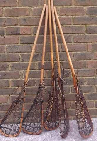 Antique Lacrosse Sticks / Leather Lacrosse Sticks