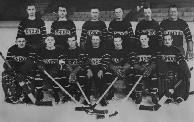 London Hockey Club Canadian Professional Hockey League 1927