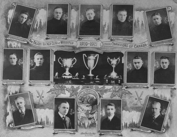 Falcon Hockey Club  Winnipeg Falcons Memorial Cup Champions 1921